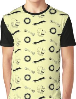 Space Odyssey Iconography (yellow) Graphic T-Shirt