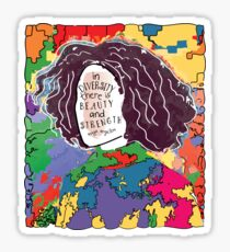 IN DIVERSITY THERE IS BEAUTY AND STRENGTH Sticker