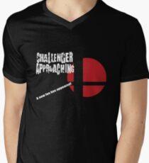 Super Smash Bros: Challenger Approaching! (3DS Style) Men's V-Neck T-Shirt