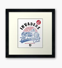 Invaders Motorcycle Club South Dakota Framed Print