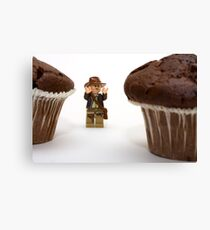 Cakes - why did it have to be cakes?? Canvas Print