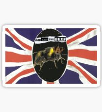 GOD SAVE THE BEES Sticker