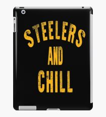 Steelers And Chill iPad Case/Skin