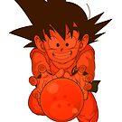 Kid Goku by mkeene2015
