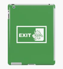 Emergency Exit iPad Case/Skin