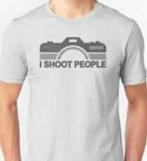 I Shoot People Photography Text Unisex T-Shirt