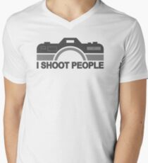 I Shoot People Photography Text T-Shirt