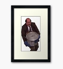 Kevin the Office Chili Framed Print