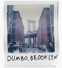 Polaroid Photo - DUMBO, Brooklyn - Zackattack Poster