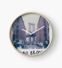 Polaroid Photo - DUMBO, Brooklyn - Zackattack Clock