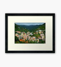 Colourful Cinque Terre Framed Print