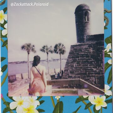 Polaroid Picture - Beautiful St. Augustine by zackpolaroid