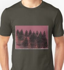 Amoung the pines Unisex T-Shirt
