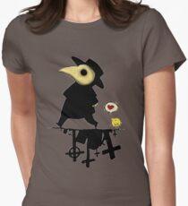 Plague Doctor III Women's Fitted T-Shirt