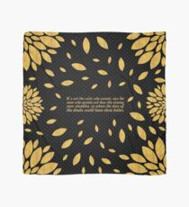 "It's not the... ""Theodore Roosevelt"" Inspirational Quote Scarf"