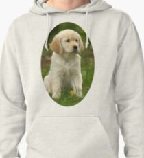 Cute Golden Retriever Puppy Pullover Hoodie