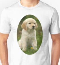 Cute Golden Retriever Puppy Unisex T-Shirt