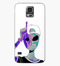 holografisches Alien Hülle & Klebefolie für Samsung Galaxy