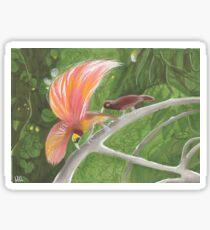 Goldie's Birds of Paradise Sticker