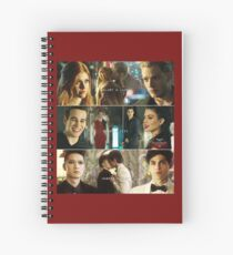 Malec - Sizzy - Clace Spiral Notebook