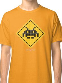 Space Invader Xing Classic T-Shirt