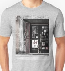 Abandoned dog Unisex T-Shirt