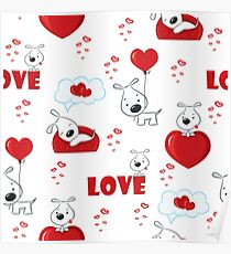 Dogs in love Poster