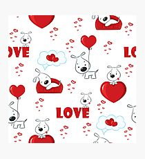 Dogs in love Photographic Print