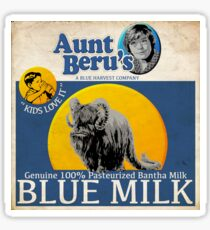 Aunt Beru's Blue Milk : Inspired by Star Wars Sticker