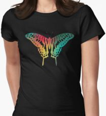 Rainbow color butterfly  T-Shirt