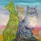 FOUR CATS by lautir