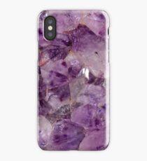 Amethyst Crystals. iPhone Case/Skin
