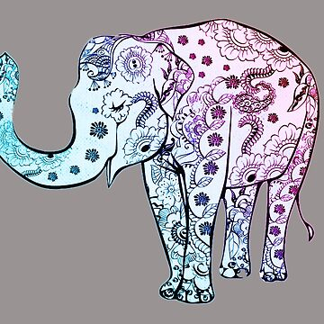 Elephant Design by GodIsDead-iknow