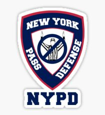 Giants NYPD Sticker