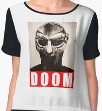 mf doom Women's Chiffon Top