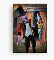 Creepy Circus Canvas Print