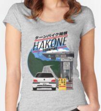 Hakone Peugeot 106 Rallye Women's Fitted Scoop T-Shirt