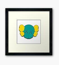 KAWS Head Framed Print