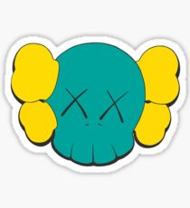 KAWS Head Sticker