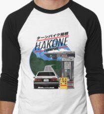 Camiseta ¾ bicolor para hombre Hakone Toyota AE86 Trueno