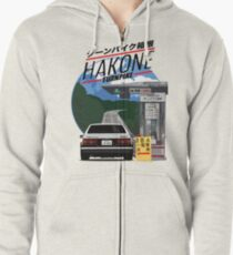 Hakone Toyota AE86 Trueno Zipped Hoodie