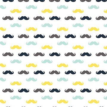 Сolored mustache by Lukovka