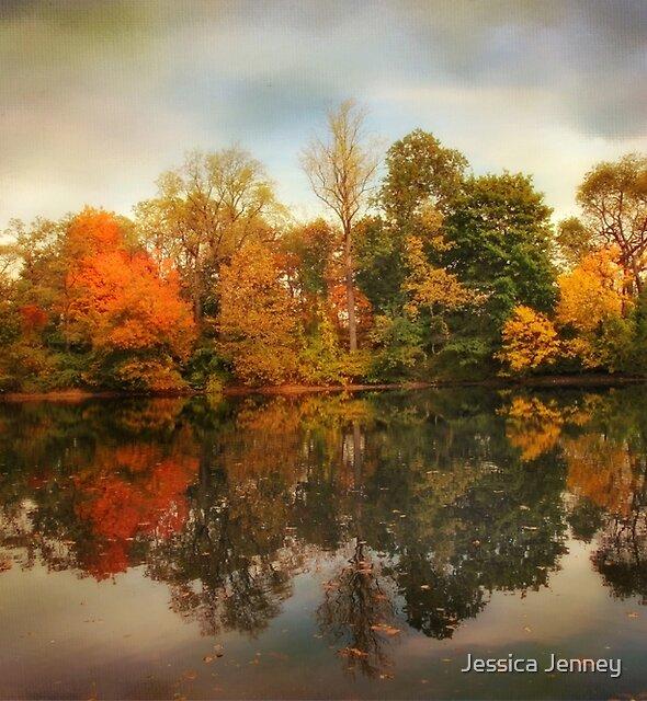 Twin Pond Reflections by Jessica Jenney
