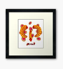 Aries Pastry Framed Print