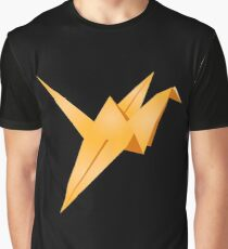 Origami Crane Graphic T-Shirt