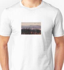 Rooks flock to roost Unisex T-Shirt