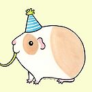 Celebration Guinea-pig by Zoe Lathey