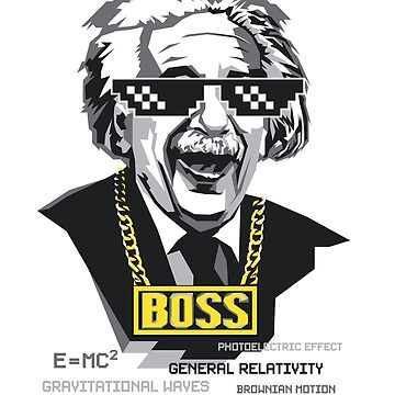 "Einstein ""The Boss"" by starstuffstore"
