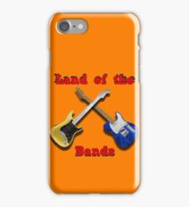 Land of the Bands iPhone Case/Skin