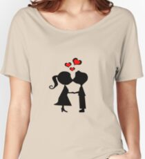 Kissing couple Women's Relaxed Fit T-Shirt